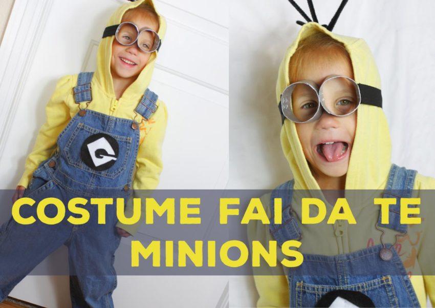 abbastanza Costume Carnevale Minions | Il Paese dei Bambini che Sorridono CF62
