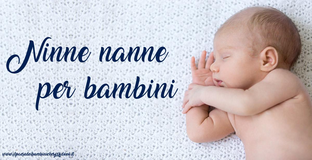 ninna nanna per neonati da